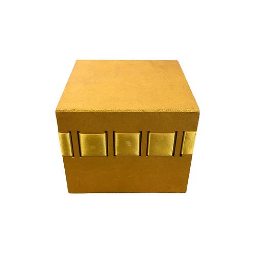 Caixa - MDF - Dourada