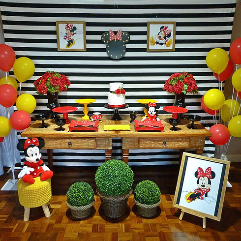 Decoração Festa Infantil Tema Minnie