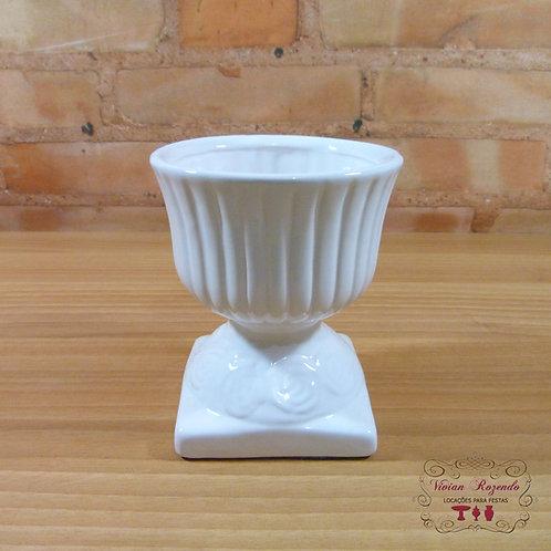 Cachepô - Mini Vaso - Branco - Taça