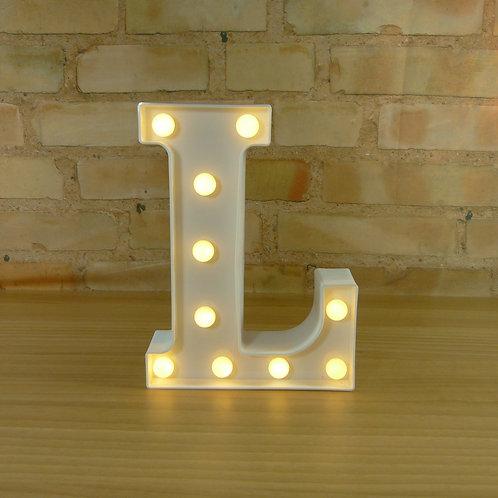 Letra - Luminosa - Led - L