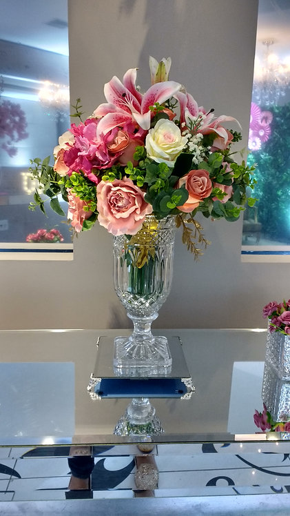 Arranjo Floral - Cor a escolher (vaso a parte)