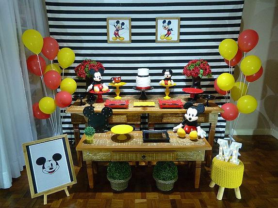 Decoração Festa Infantil Tema Mickey