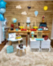 Decoração Festa Infantil Tema Volta ao Mundo