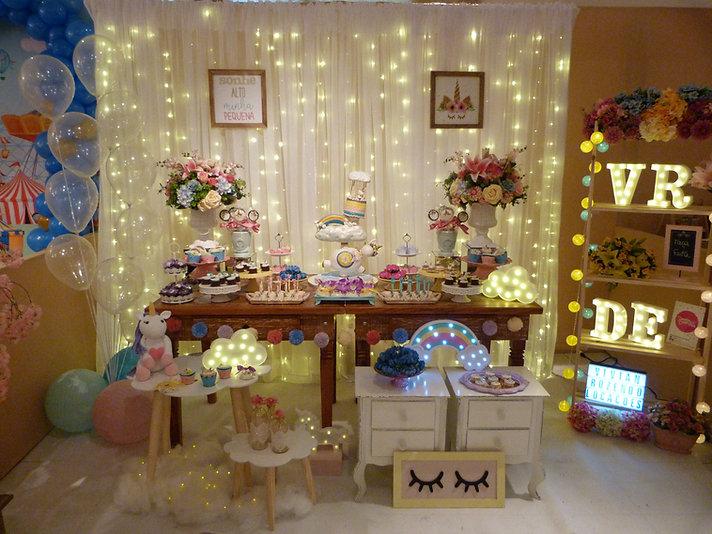 Locaç u00e3o Objetos p Festas Tema Unicórnio Vivian Rozendo Locações # Aluguel Decoração Festa Infantil Unicornio