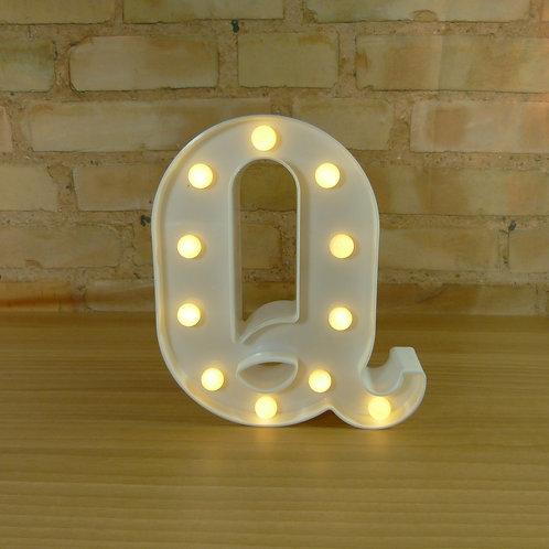 Letra - Luminosa - Led - Q