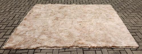 Tapete - Bege - Pêlo Alto - 2m x 2,40m