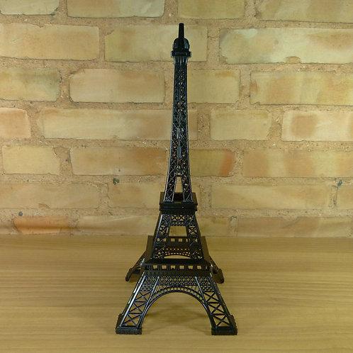Torre Eiffel - Preta - 38 cm