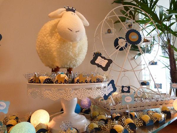 Decoração Festa Infantil Tema Ovelhinha