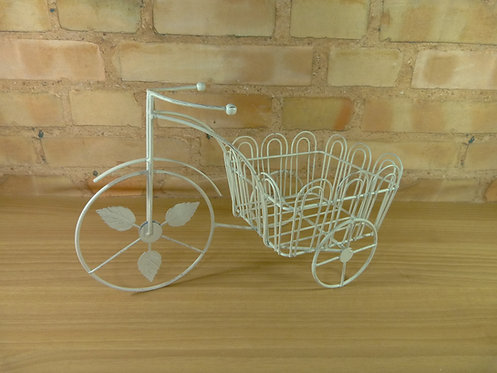Bicicleta -Cachepô - Bege