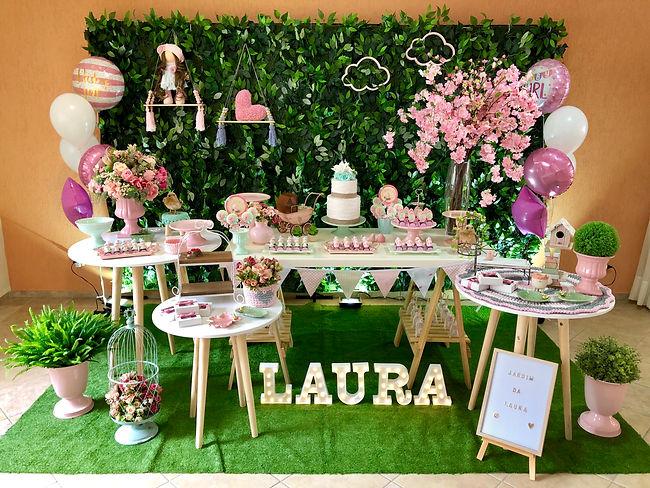Decoração Festa Infantil - Tema Jardim - Curitifestas Locações e Decorações