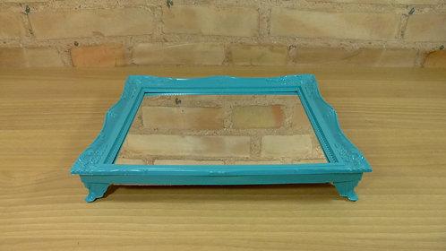 Bandeja - Tiffany - Rococó - Espelhada