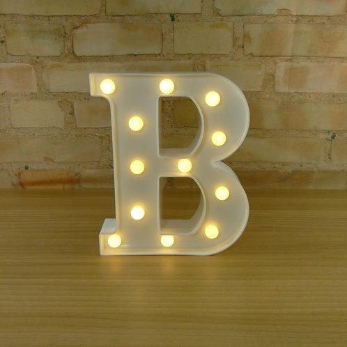 Letra - Luminosa - Led - B