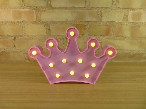 Coroa - Rosa - Led