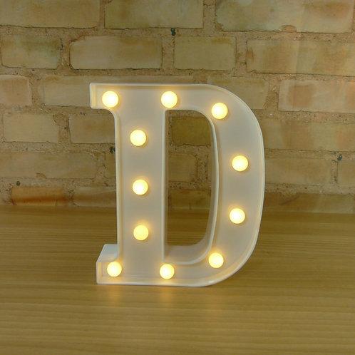 Letra - Luminosa - Led - D