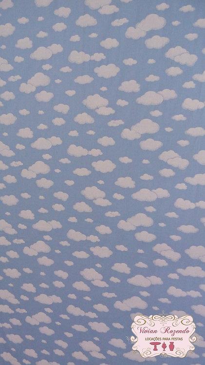 Painel Tecido - Nuvens (suporte não incluído)