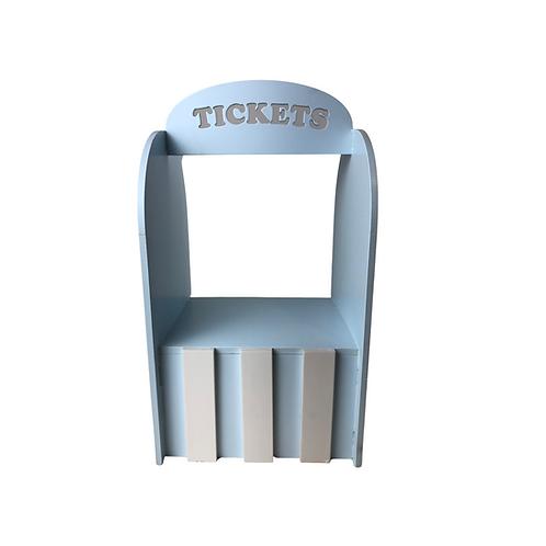 Enfeite - Bilheteria - Tickets - Azul - MDF