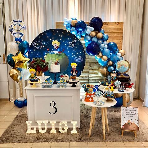 Decoração Festa Infantil - Tema Pequeno Príncipe | Curitifestas