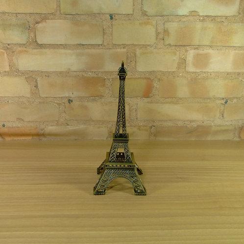 Torre Eiffel - Dourada - 25 cm