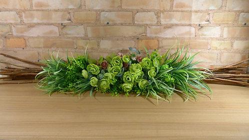 Arranjo - Floral - Verde - Linear