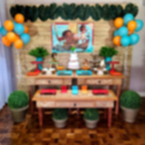 Decoração Festa Infantil Tema Moana