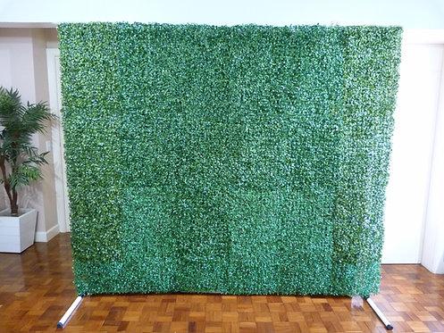 Muro Inglês - Grama artificial - Com suporte
