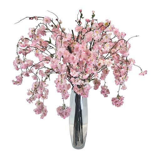 Arranjo - Floral - Rosa - com Vidro