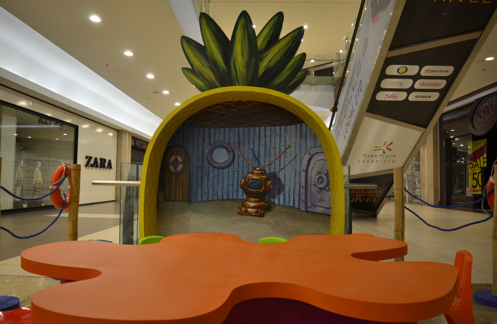 ambientacion centros comerciales