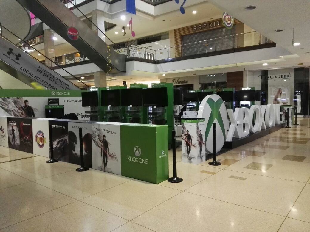 stands centros comerciales