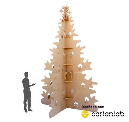 Árbol de navidad gigante | 3 metros de altura