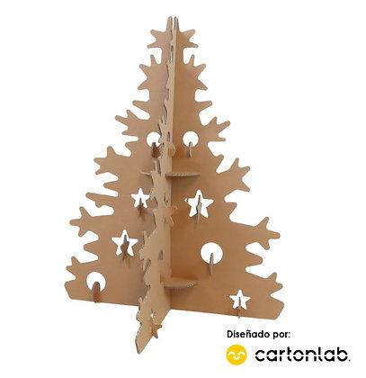 KLAUS | Árbol de Navidad de cartón 95cm y 175cm