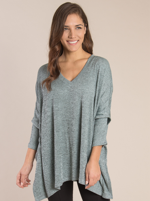 Simply Noelle Shimmer Tunic Top