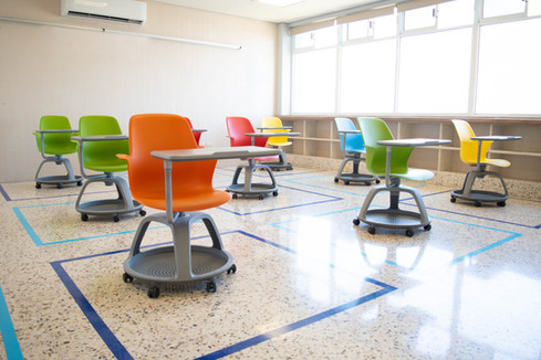 Middle School classrooms