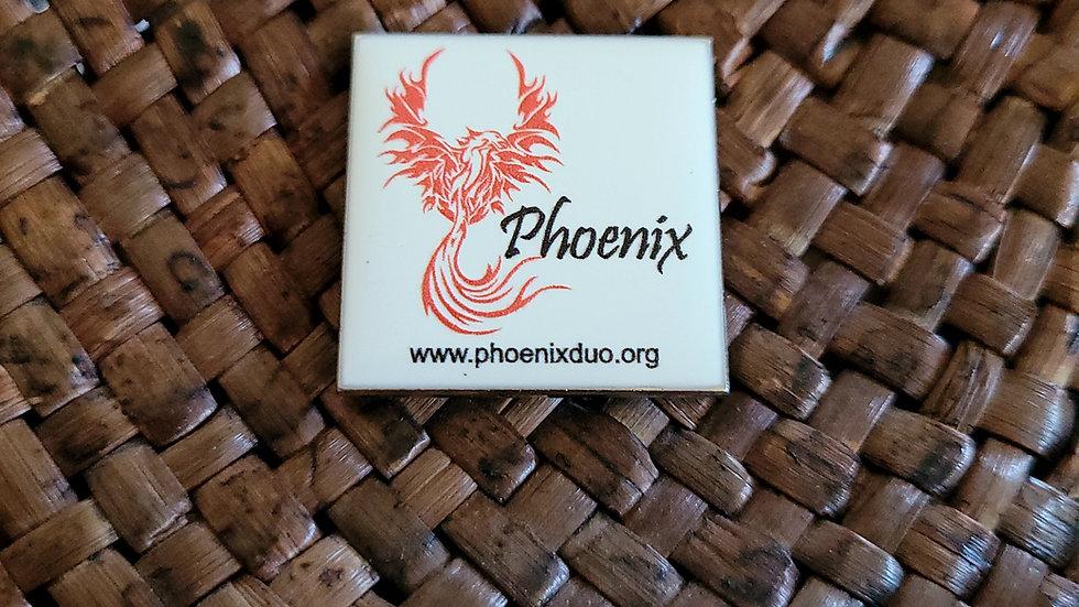 Phoenix Logo Pins