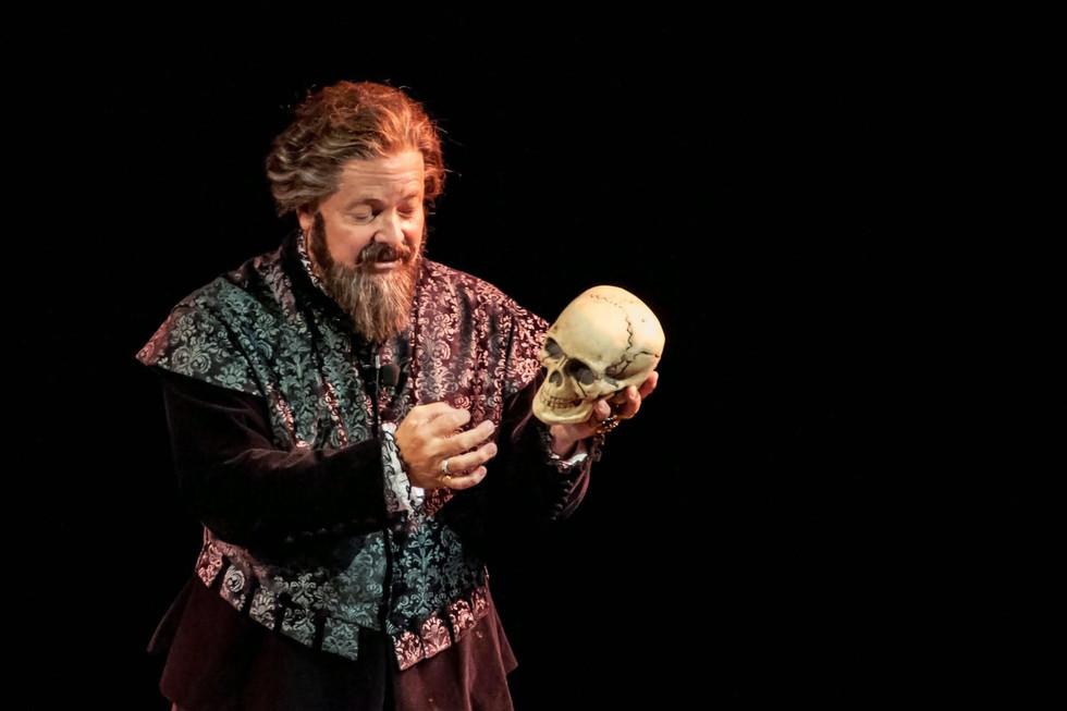 Clay Jenkinson as Hamlet