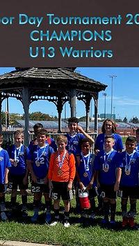 warriors labor day tournament champs 202