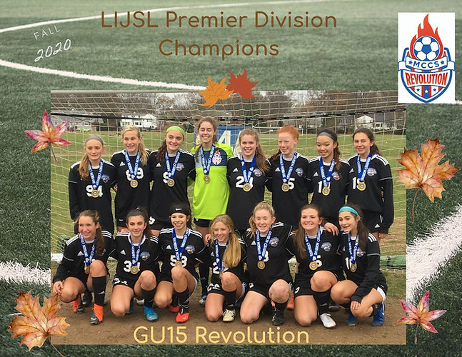 LIJSL Premier Division Champions fall 20