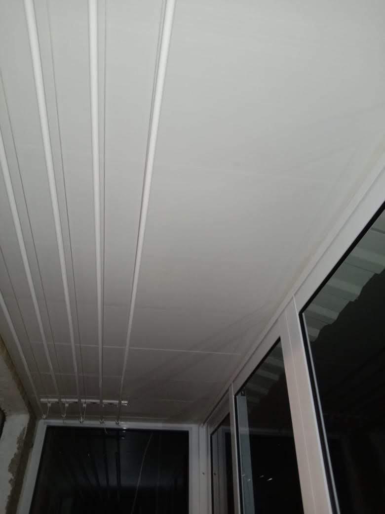 Остекление балкона п. Кирпичного завода