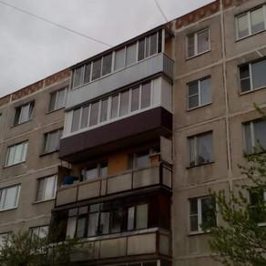 Остекление балкона 6 метров в Серпухове, ул. Красный текстильщик