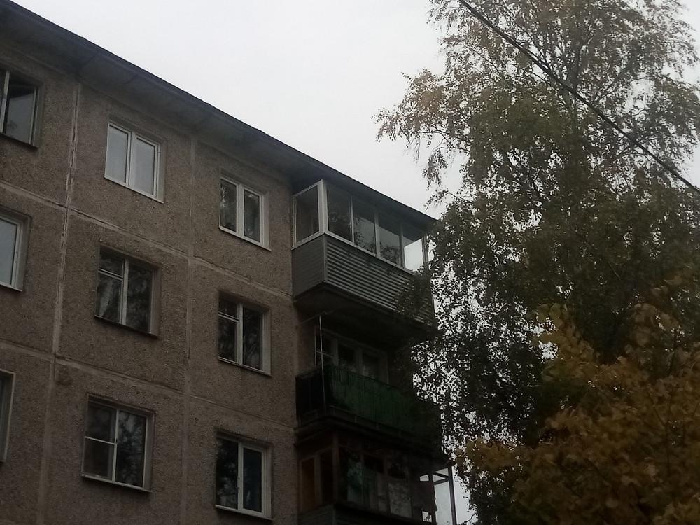 Застеклить балкон в хрущевке ул. Захаркина 5, Серпухов