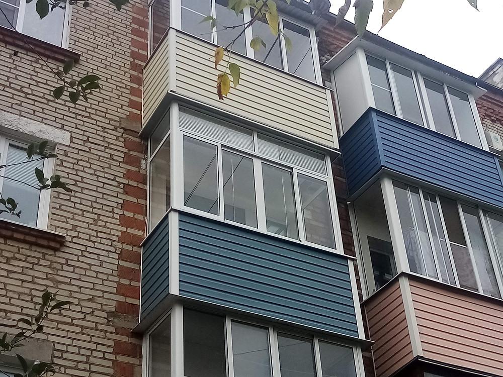 Остекление балкона в Серпухове на ул. Российская