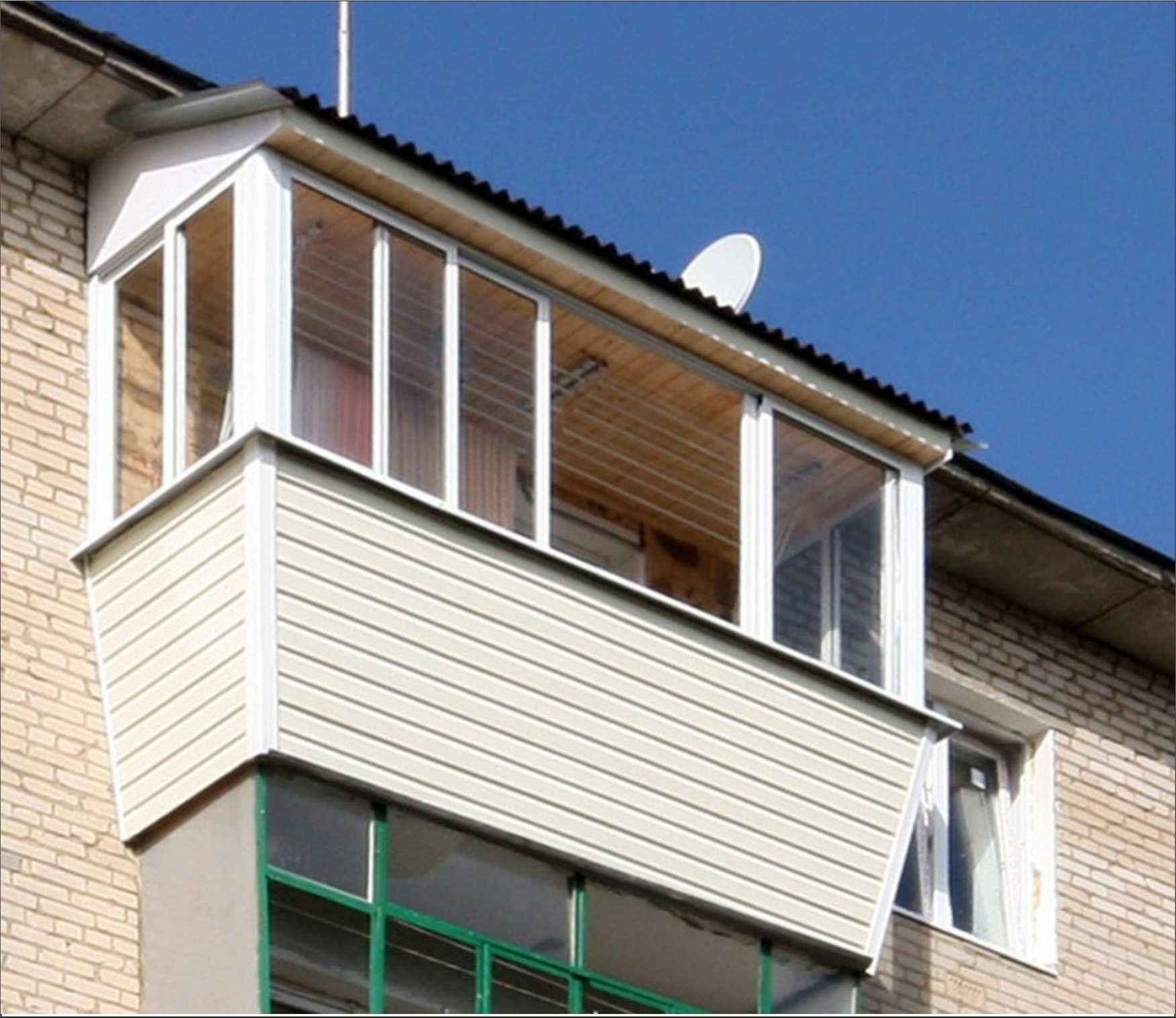 Вынос балкона на 5ом этаже хрущевка