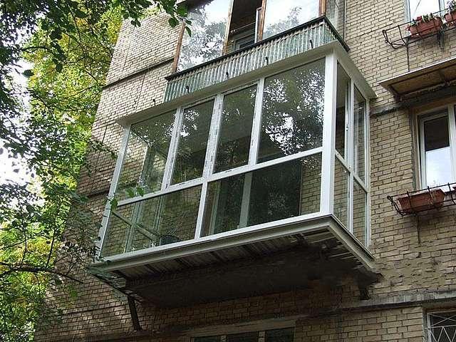 Вынос балкона серпухов