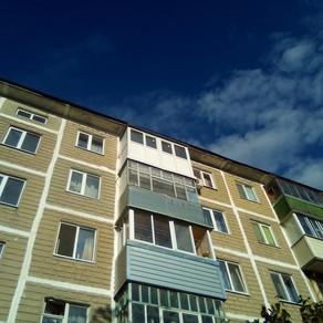 Остекление балкона в Серпухове на ул.Осенняя в хрущевке