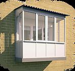 Остеление балкона и лоджии