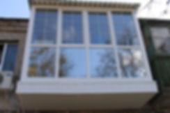 Французское остекление балкона серпухов