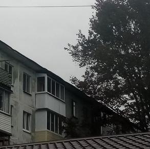 Остекление балкона на ул. Чернышевского в хрущевке