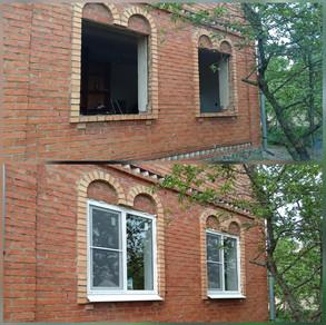 Установка 4х пластиковых окон в СНТ Берёзка. ГО Серпухов