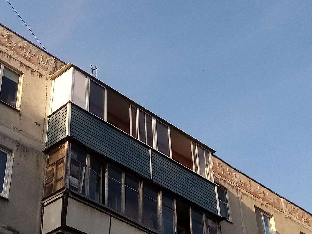 Остекление балкона 6 метров серпухов