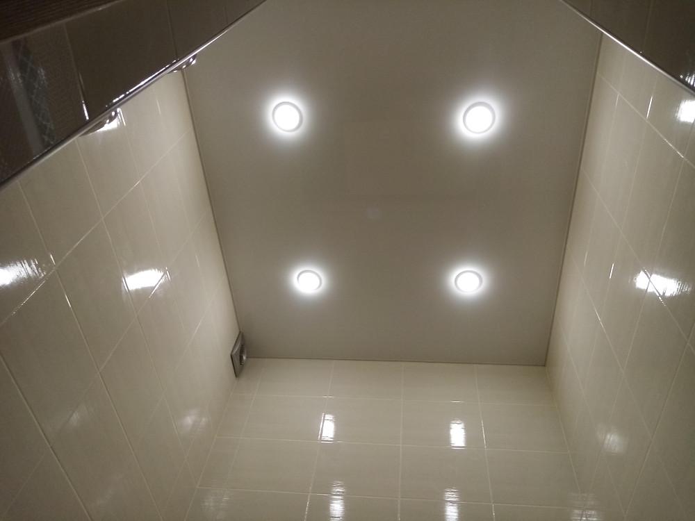 Натяжные потолки Серпухов в ванной