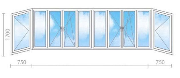 остекление балкона 6 метров серпухов цена